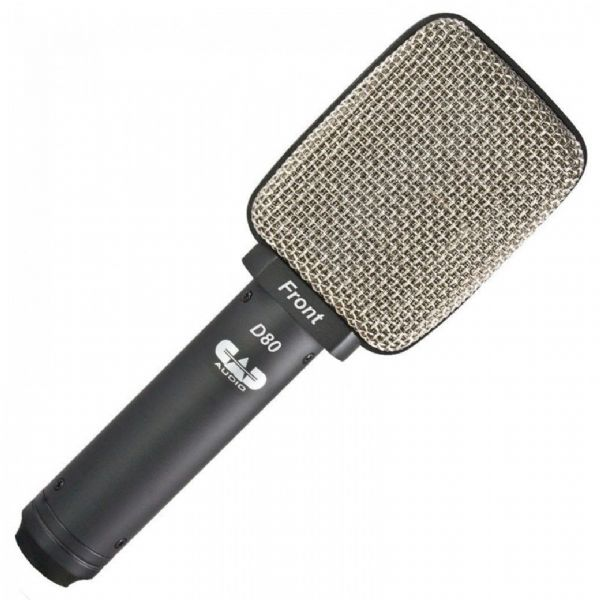 CAD Audio - CAD LIVE SIDE ADDRESS LARGE DIAPHRAGM CARDIOID MICROPHONE - D80